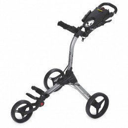 BagBoy Compact 3 golftrolley (zilver/zwart) BB-C3-GB BagBoy Golf Golftrolleys