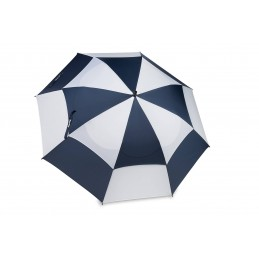 BagBoy golfparaplu Double Canopy (marineblauw/wit)