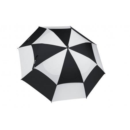 BagBoy golfparaplu Double Canopy (zwart/wit)