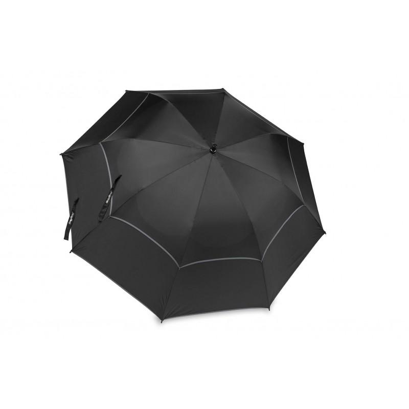 BagBoy Double Canopy golfparaplu (zwart/grijs) BB-DCU-BG BagBoy Golf Regen artikelen