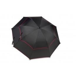 BagBoy golfparaplu Double Canopy (zwart/rood)