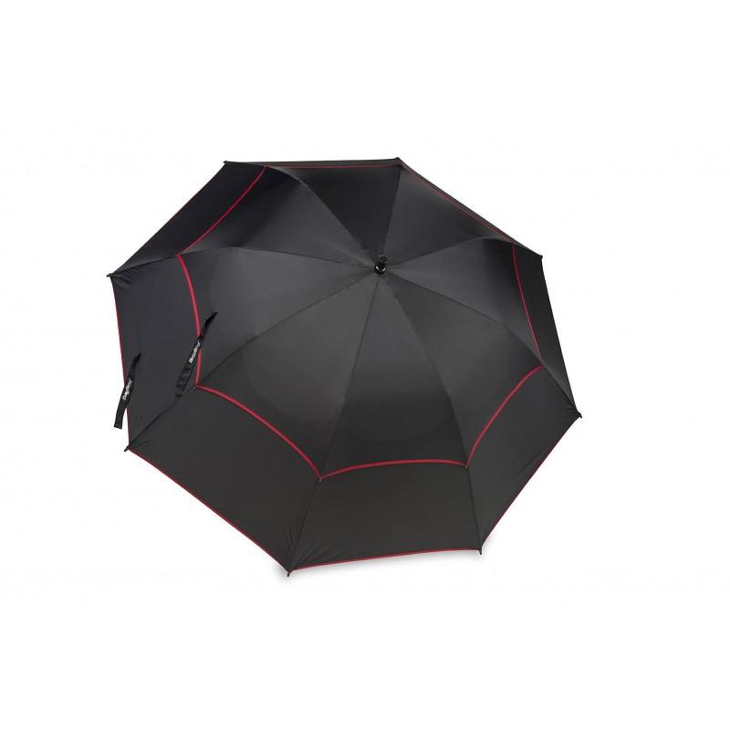 BagBoy golfparaplu Double Canopy (zwart/grijs)