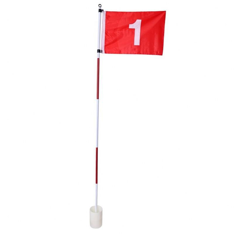 Pure4Golf golf oefenhole met vlag - golfvlag P2I641280 Pure2Improve Golf oefenmateriaal
