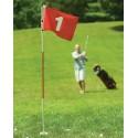 Silverline golf oefenhole met vlag 1512 Silverline Golf Golf oefenmateriaal