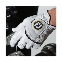Footjoy StaSof heren golfhandschoen links (parelgrijs) 66792E Footjoy Golfhandschoenen