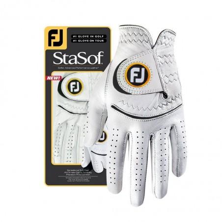 Footjoy StaSof dames golfhandschoen links (parelgrijs) 66796E Footjoy Golfhandschoenen