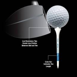 Pride Professional Tee System Performance plastic tees 30 stuks (69mm) 190027 Pride GolfTee Golfaccessoires