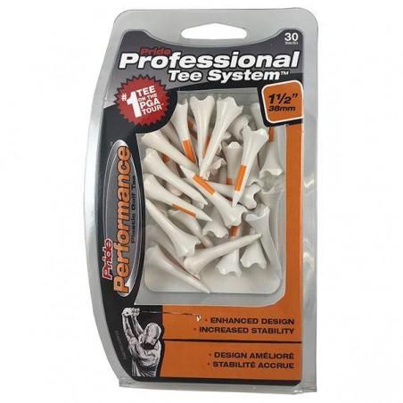 Pride Professional Tee System Performance plastic tees  30 stuks (38mm)