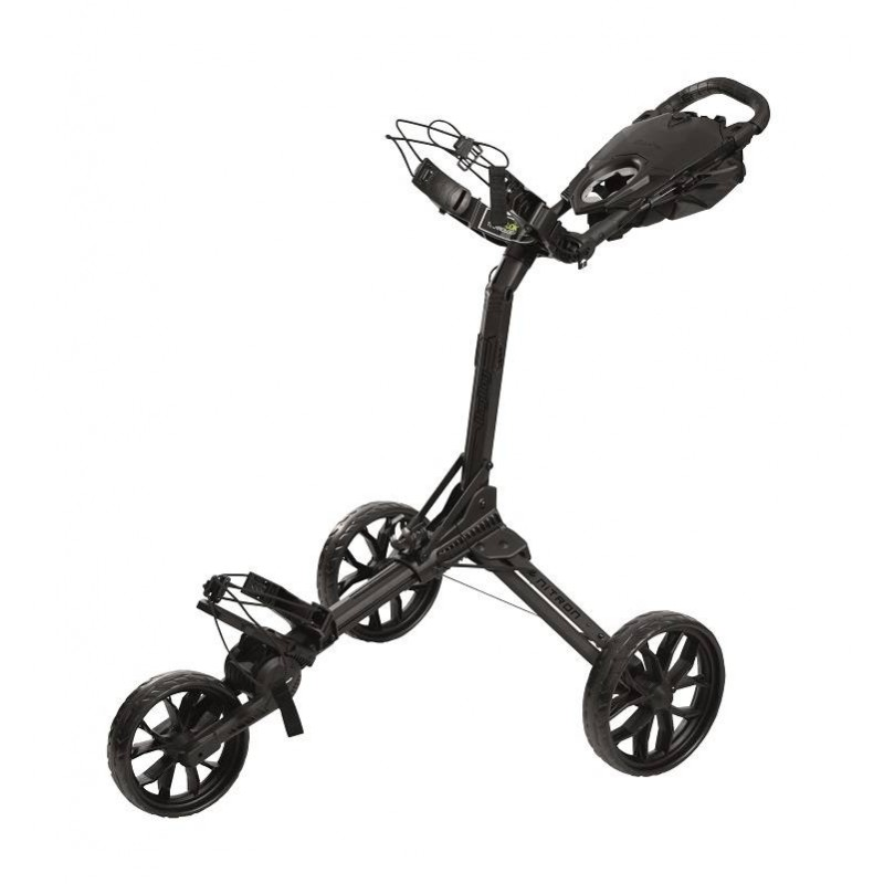 BagBoy Nitron volautomatisch uitklapbare golftrolley (zwart) BB72018 BagBoy Golf Golftrolleys