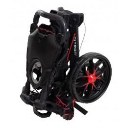 BagBoy Nitron volautomatisch uitklapbare golftrolley (zwart) BB72018 BagBoy Golf Golftrolleys