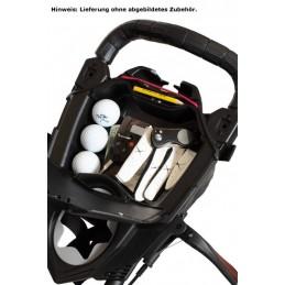 BagBoy Nitron volautomatisch uitklapbare golftrolley (zilver) BB72012 BagBoy Golf Golftrolleys