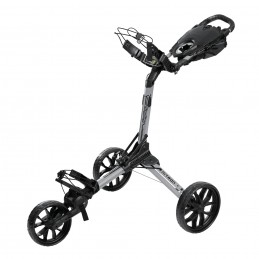 BagBoy Nitron volautomatisch uitklapbare golftrolley (zilver) BB72012 BagBoy Golf Golftrolleys