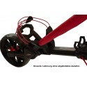 BagBoy Nitron volautomatisch uitklapbare golftrolley (marineblauw) BB72015 BagBoy Golf Golftrolleys