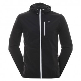 Calvin Klein Golf ultra licht wind jacket (zwart)