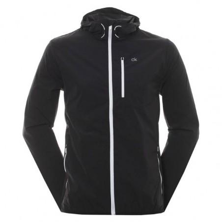 Calvin Klein Golf ultra licht wind jacket (zwart)