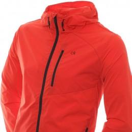 Calvin Klein Golf ultra licht wind jacket (rood) C9375-9389-R Calvin Klein Golf Golfkleding