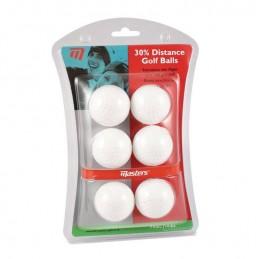 Matsers 30% afstand golf oefenballen (wit) ZDGB0000 Masters Golfballen