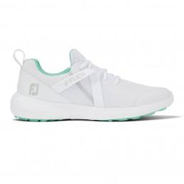 Footjoy Flex dames golfschoen (wit/groen) 95729 Footjoy Golfschoenen
