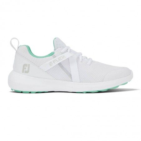 Footjoy Flex dames golfschoen (wit/groen)