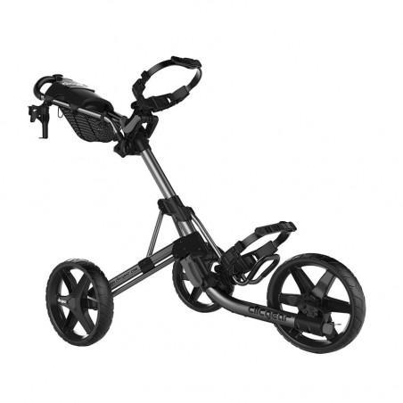 Clicgear 4.0 golftrolley - golfkar (zilver)