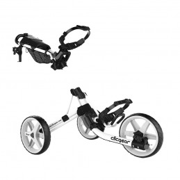 Clicgear 4.0 golftrolley - golfkar (wit) 1940-MAWH Clicgear Golf Golftrolleys