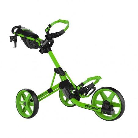 Clicgear 4.0 golftrolley - golfkar (limegroen)