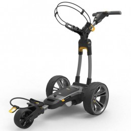 Powakaddy CT6 Compact elektrische golftrolley 18 hole lithium (grijs)