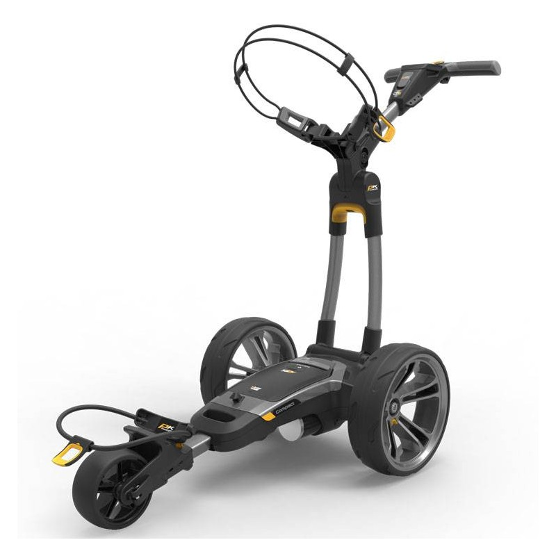 Powakaddy CT6 Compact elektrische golftrolley 18 hole lithium (grijs) 03000-02-001-01 Powakaddy Elektrische trolley