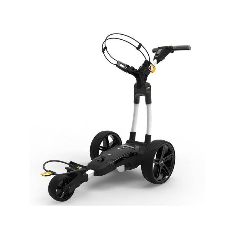 Powakaddy FX3 electrische golftrolley 18 hole lithium (wit) 02300-01-003-01 Powakaddy Elektrische trolley