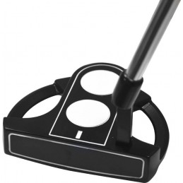 Longridge golf two-ball mallet putter met luxe oversized grip PUSP2 Longridge Golfclubs