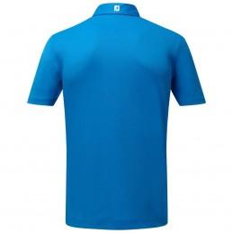 FootJoy Stretch Pique heren golfpolo shirt (kobaltblauw) 91817 Footjoy Golfkleding