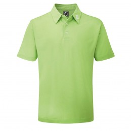 FootJoy Stretch Pique heren golfpolo shirt (lime) 91818 Footjoy Golfkleding