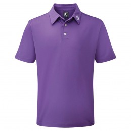 FootJoy Stretch Pique heren golfpolo shirt (paars) 91796 Footjoy Golfkleding