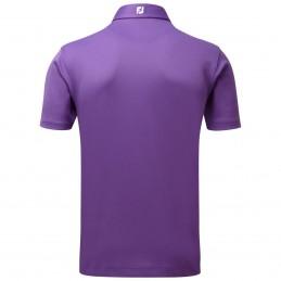FootJoy Stretch Pique heren golfpolo shirt (paars) 91796 Footjoy Golfkleding
