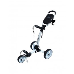 Axglo Trilite ultra lichte 3-wiel golftrolley (wit) TL-WH/WH Axglo Golftrolleys