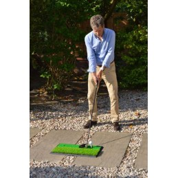 PGA TOUR Launch Pad Pro 2 in 1 oefenmat, golf afslagmat PGAT158 PGA Tour  Golf oefenmateriaal