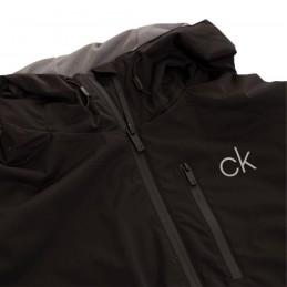 Calvin Klein Golf Ultron heren wind-regenjas met capuchon (zwart) CKMA20422-B Calvin Klein Golf Golfkleding