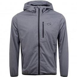 Calvin Klein Golf Ultron heren wind-regenjas met capuchon (grijs) CKMA20422-GM Calvin Klein Golf Golfkleding