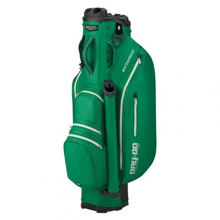 Bennington Dry Quiet Organizer waterdichte golf cartbag (groen-zilver) QODB-BGS Bennington Golf Golftassen