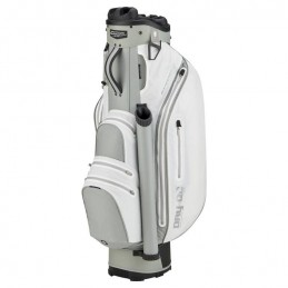 Bennington Dry Quiet Organizer waterdichte golf cartbag (wit-zilver) QODB-WS Bennington Golf Golftassen