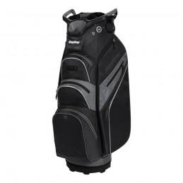 BagBoy Lite-Rider Pro golf cartbag met Top-Lock (zwart-grijs) BB-LRP-BC BagBoy Golf Golftassen