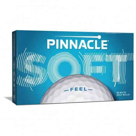Pinnacle Soft golfballen 15 stuks (wit) P5011S-15PBIL Pinnacle Golfballen