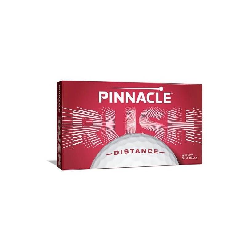 Pinnacle Rush golfballen 15 stuks (wit) P4034S-15PBIL Pinnacle Golfballen